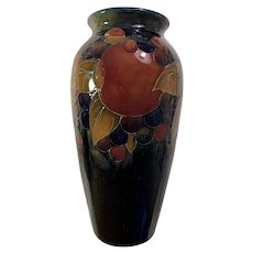 Large Vintage Moorcroft Vase in the Pomegranate Pattern