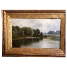Ernest Parton Oil on Canvas Painting