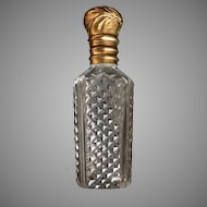 Purse Perfume Flask with Interior Stopper