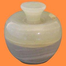 Onyx Box w Spikenard Oil Bottle  Ecclesiastical Memorabilia