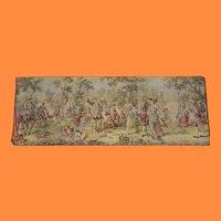 Vintage Belgium Tapestry After the Hunt
