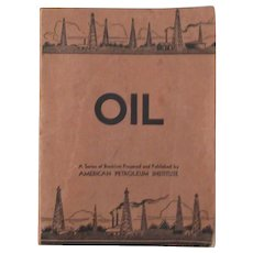Rare Vintage Oil A Series of Booklets American Petroleum Institute 1930