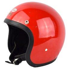 Vintage '75 Bell RT Magnum Motorcycle Racing Helmet 7 1/8