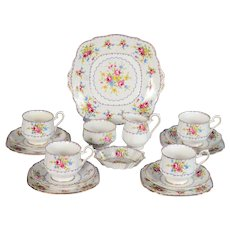 Royal Albert Petit Point Tea Set