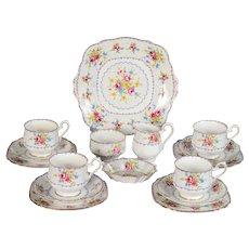 Royal Albert Petit Point Tea Set