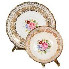 Paragon Gold Gilded Design Teacup & Saucer