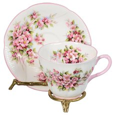 Royal Albert Blossom Time Series - Apple Blossom - Teacup & Saucer