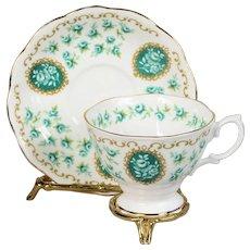 Royal Albert Cameo Series Teacup & Saucer - Memento
