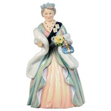 Royal Doulton Signed Limited Edition Figurine - Queen Elizabeth, The Queen Mother