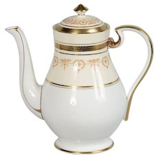 Aynsley Gold Dowery Coffee Pot