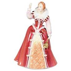 Royal Doulton Figurine Limited Edition Queen Elizabeth 1 HN 3099
