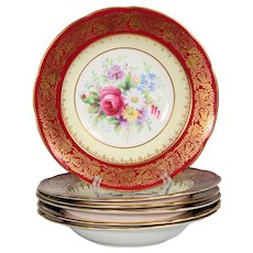 Set of 6 Paragon Rimmed Soup Bowls
