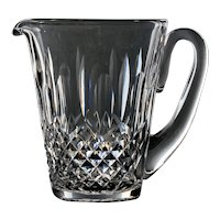 Waterford Kenmare Water or Juice Pitcher holds 28 oz.