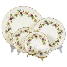 Royal Worcester Bacchanal 4 - 5 Piece Place Settings