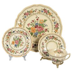 Set of 4 Royal Doulton The Cavendish 4 Piece Place Settings