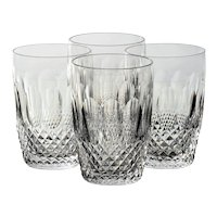Set of 4 Waterford Colleen Short Stem (Cut) Tumblers