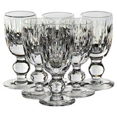 Set of 6 Waterford Maureen Cordial Glasses