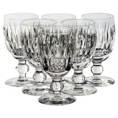 Set of 6 Waterford Maureen Port/Sherry Glasses