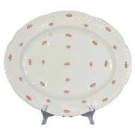 Shelley Rosebud Dainty Shape Serving Platter # 13426