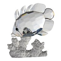 Swarovski Butterfly Fish Signed with Swan Logo with the Original Box
