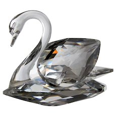 Swarovski Swan Medium Sized with the Original Box
