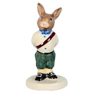 Royal Doulton Bunnykins Figurine - Royal Family Prince Frederick DB 48