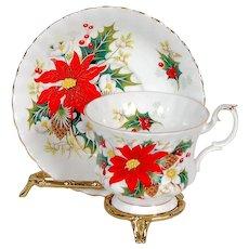 Royal Albert Yuletide Teacup & Saucer