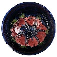 Moorcroft Anemone Signed Small Dish