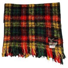 Handacraft Scottish Mohair Wool Throw