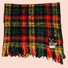 Handacraft Scottish Mohair Wool Throw