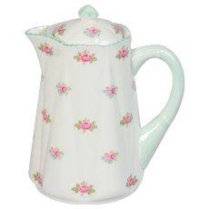 Shelley Rosebud Small 3 Cup Hot Water Jug