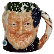 Royal Doulton Small Toby Jug - Bacchus D6521