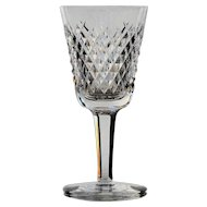 8 Waterford Alana White Wine Glasses