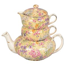 Lord Nelson Ware Heather Stacking Teapot