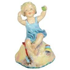 Royal Worcester Figurine - Sabbath Day Child #3256