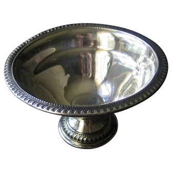 Vintage Sterling Silver Compote Arrowsmith
