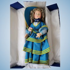 "Vintage 27"" Lenci Doll ""Marjo"" in Original Box w/COA"