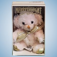 "Merrythought Cheeky Golden Cherub 6"" Limited Edition MIB"