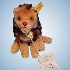 Steiff Historic Miniature Leo Lion EAN 030956 w/All ID's