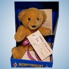 Rare Merrythought Limited Edition  Titanic Bear - True Story (HE SURVIVED!!)