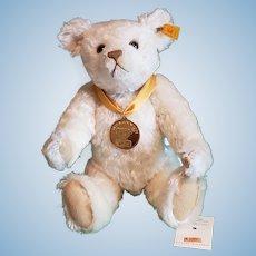"""Steiff Millennium 12"""" Mohair Bear w/All ID's"""