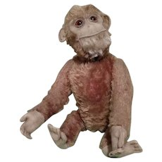 Vintage 1930's Schuco Yes-No Monkey