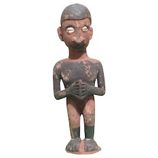 "Papua New Guinea 8"" Tribal Wood Idol Doll"