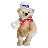 """Steiff 2003 First American Teddy Bear North American Exclusive 15"""" Mohair"""
