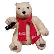 Steiff Coca-Cola Polar Bear, EAN # 665813