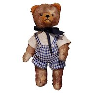"""Antique 18"""" Fully Jointed Teddy Bear"""