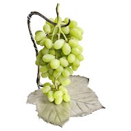 Antique Tiffany & Co Silver Plated Grape Stand
