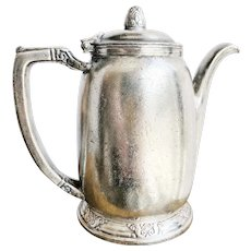 Vintage 1959 Silver Plated Waldorf Astoria Hotel Teapot