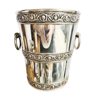 Antique Tiffany & Co Silver Plated Champagne Bucket