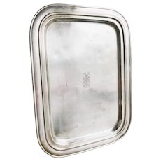 Vintage Silver Plated Pennsylvania Railroad Serving Tray
